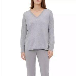 Calvin Klein gray sweater NWT